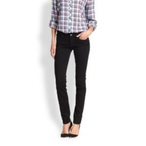 PAIGE Skyline Skinny Black Jeans Size 24